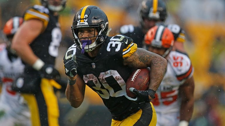 James Conner has kicked on as the team's starter in his second year