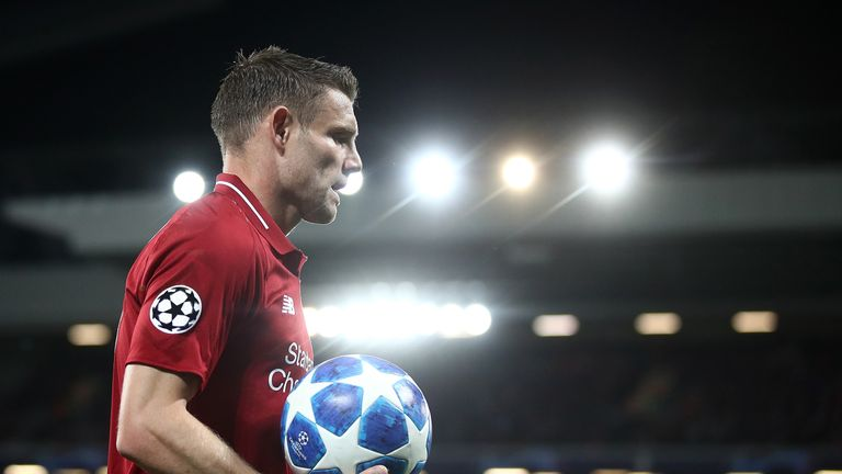 James Milner has two goals and two assists so far this season
