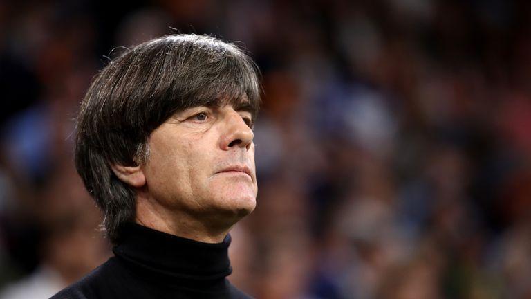 Germany boss Joachim Low is under pressure