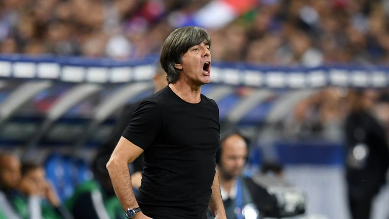 Joachim Low's new-look Germany squad have just three surviving members from the 2014 World Cup win