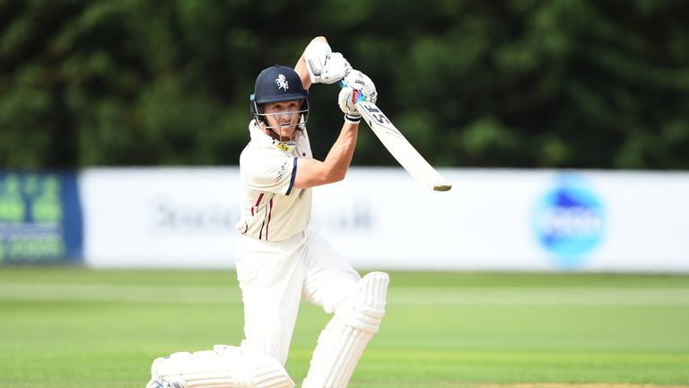 Joe Denly pressed his Ashes claims with a century for Kent