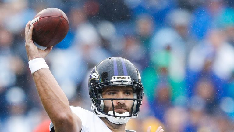 Joe Flacco has joined the Denver Broncos in a trade from the Baltimore Ravens