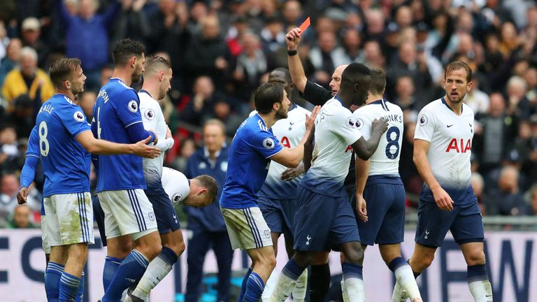 Cardiff have lost their appeal over Joe Ralls' red card at Tottenham