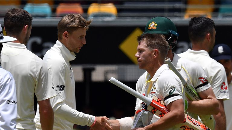 Root and Warner have a long-running Ashes rivalry