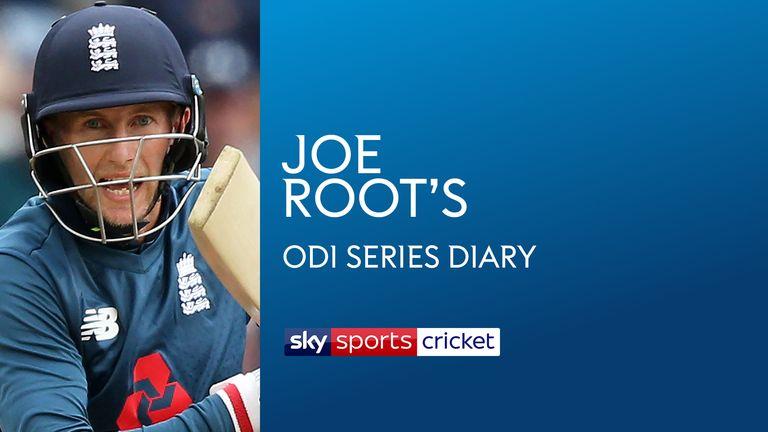 Joe Root's ODI Diary