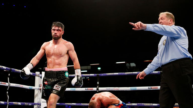 John Ryder had to overcome a bad cut on his way to victory