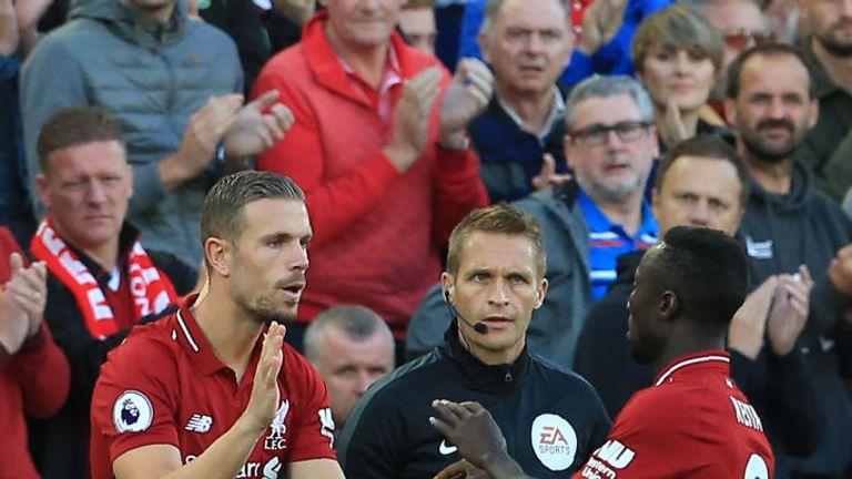 Jordan Henderson and Naby Keita will miss Liverpool's game against Red Star Belgrade