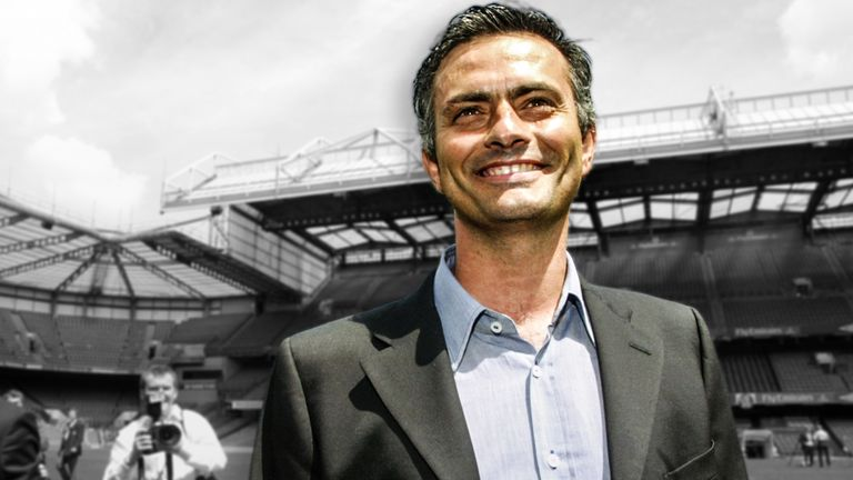 Jose Mourinho became Chelsea manager for the first time in June 2004