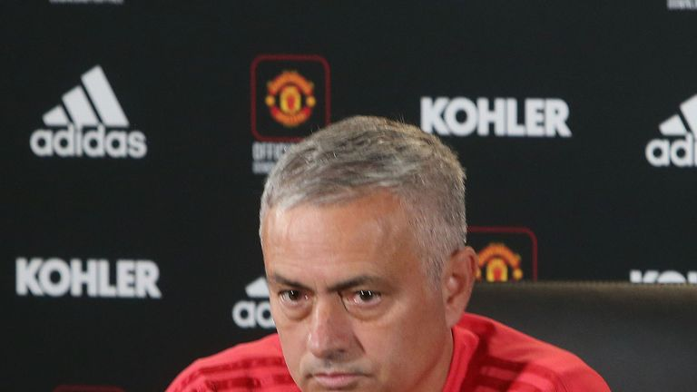 Jose Mourinho's Manchester United face Newcastle at Old Trafford on Saturday