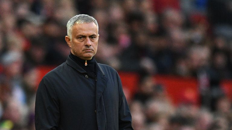 Jose Mourinho reacted to going behind by taking Eric Bailly off for Juan Mata