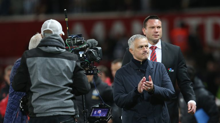 Jose Mourinho was alleged to have used abusive language at Old Trafford