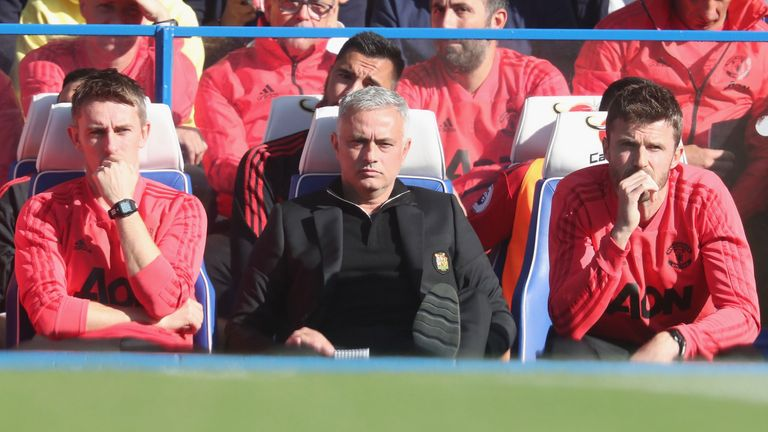 Jose Mourinho plays down touchline melee after 'awful' Chelsea draw