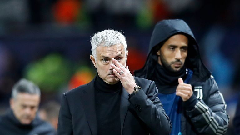Jose Mourinho's side are on a poor run of form