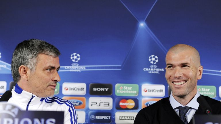 Jose Mourinho was tipped to return to the Bernabeu before Zinedine Zidane
