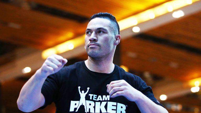 Parker is training towards a fight against Alexander Flores