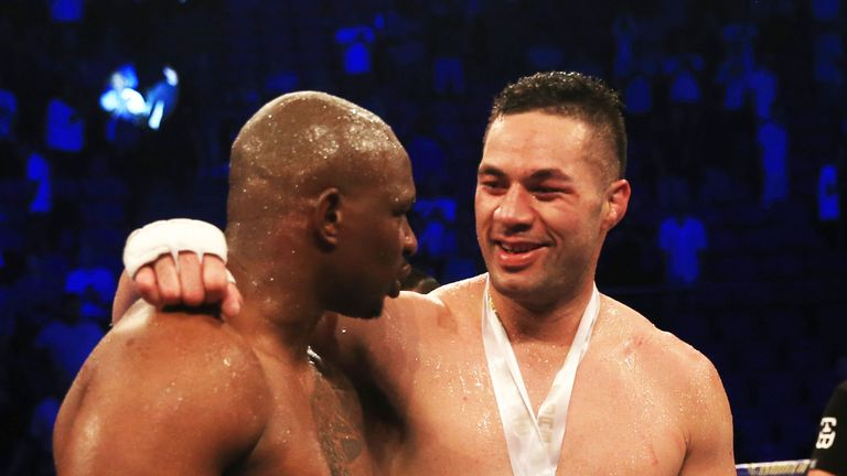 Joseph Parker still wants a future rematch with Dillian Whyte, says David Higgins