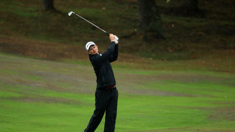 Rose was the highest-ranked player in the field at Walton Heath