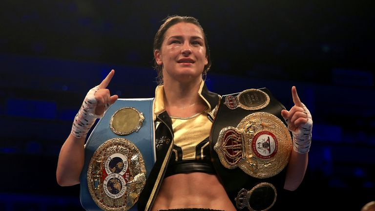 Katie Taylor takes on her fourth opponent this year