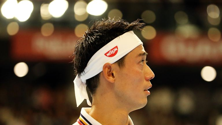 Nishikori passes Greek test to reach Japan Open semis