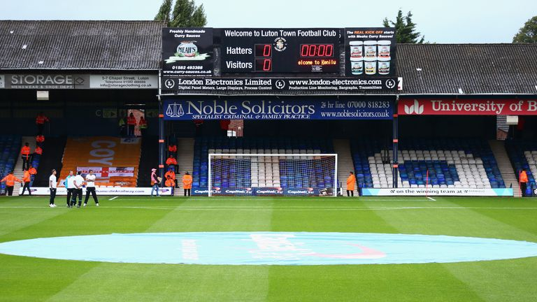 General view of Luton Town's Kenilworth Road ground