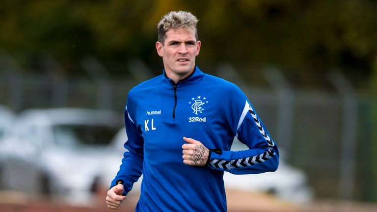 Kyle Lafferty will sit out Rangers' game at Hamilton on Sunday