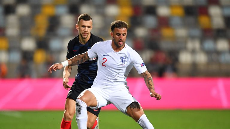 England drew 0-0 with Croatia in the Nations League