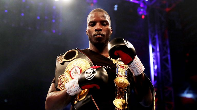 Lawrence Okolie returns to the ring at The O2
