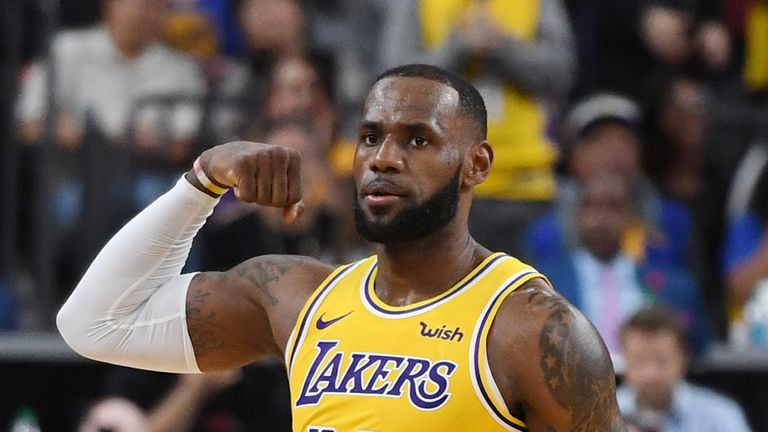 58f299fa9 LeBron James signed a four-year deal with LA Lakers this off season