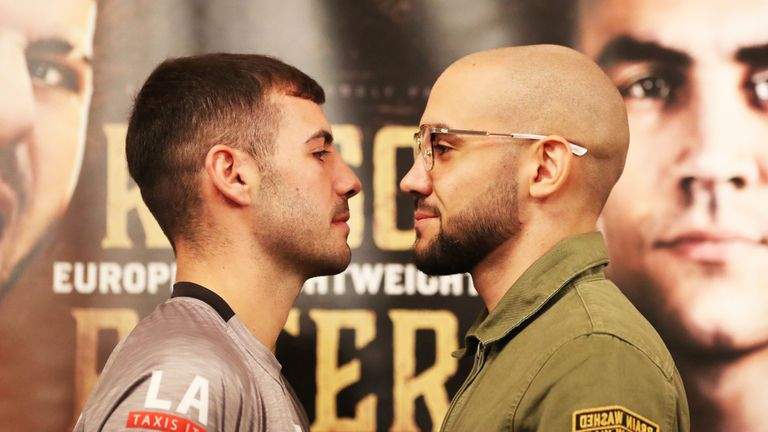 Lewis Ritson faces Francesco Patera in Saturday's European title fight