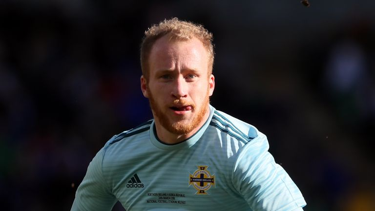 Liam Boyce could return for Northern Ireland in Sarajevo