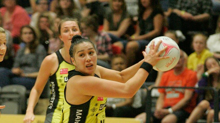 Former New Zealand player Liana Leota is one of eight returning players