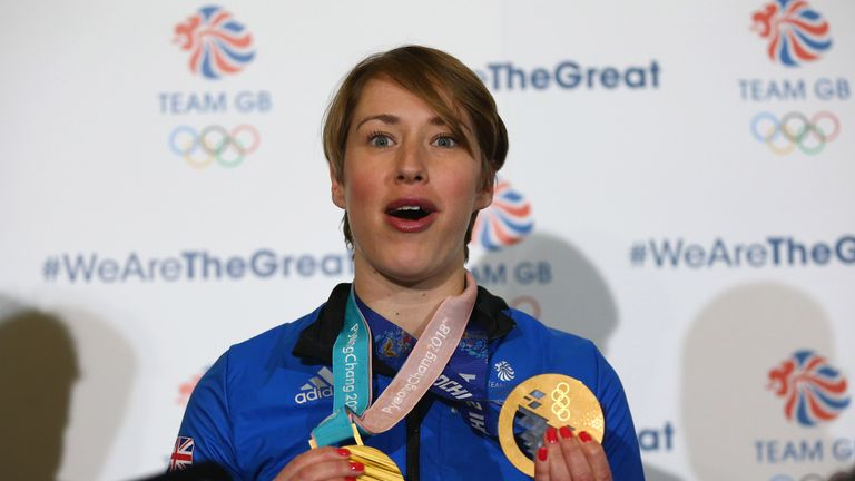 Lizzie Yarnold made history at the Winter Olympics in Pyeongchang