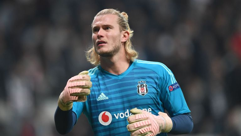 Loris Karius has played every minute for Besiktas since joining on loan from Liverpool