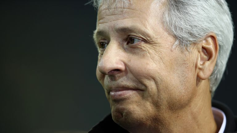 Lucien Favre has taken Borussia Dortmund to top of the league in Germany