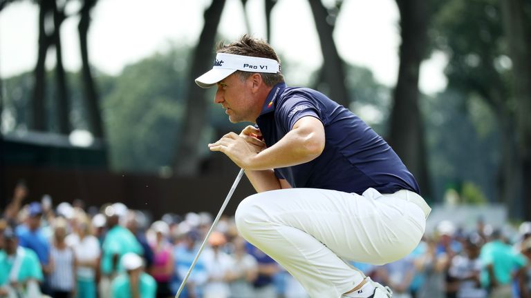 Poulter posted three birdies and one bogey on Thursday