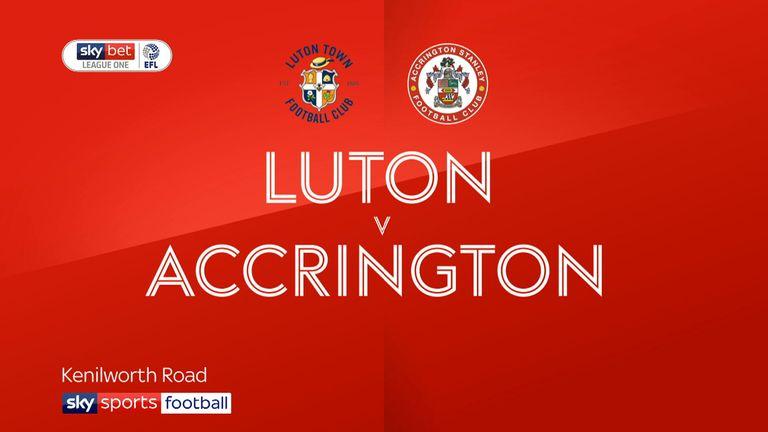 Luton v Accrington