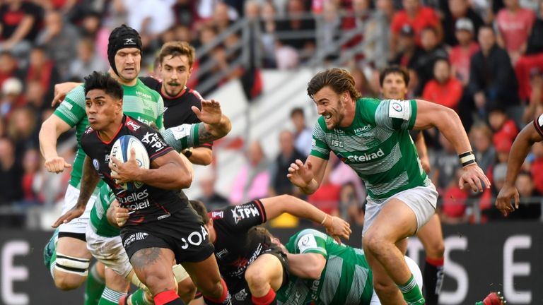 Toulon must now travel to Edinburgh and face Richard Cockerill's men in Round 2