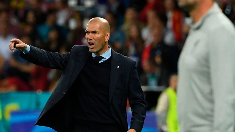 Zidane has been tipped as the likely replacement after leaving Real Madrid