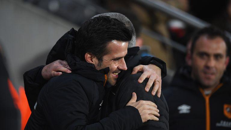 Marco Silva has a close working relationship with Jose Mourinho