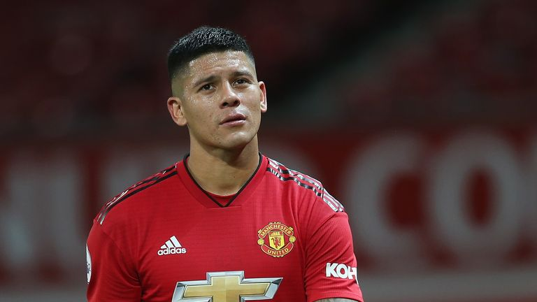 Marcos Rojo last played for Manchester United in December