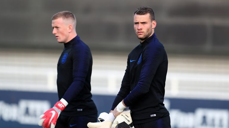 Marcus Bettinelli has been included in the last two England squads