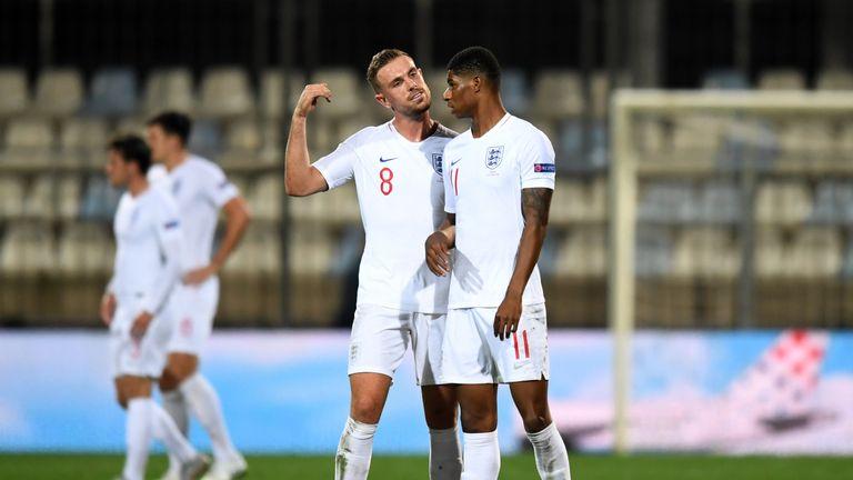 Marcus Rashford missed two clear opportunities against Croatia