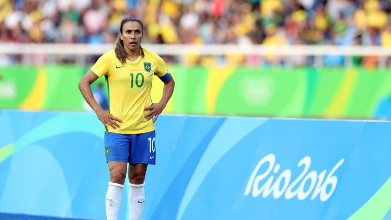 Southgate has highlighted the attacking threat posed by Brazil Women, in particular Marta