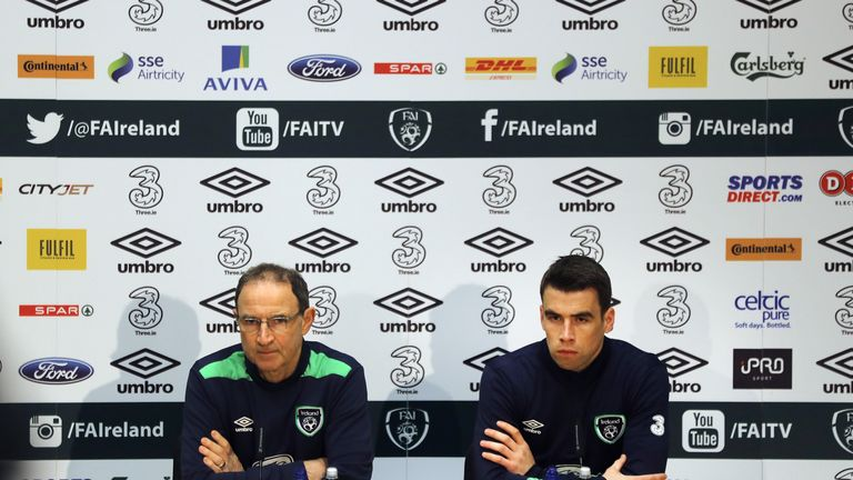 Coleman last played for Ireland in their 4-1 defeat to Wales in September