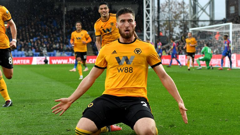 Matt Doherty scored the only goal of the game