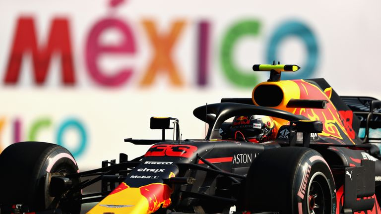 Daniel Ricciardo Retires from the Mexican Grand Prix