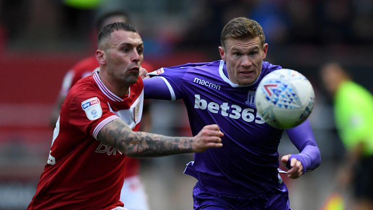 James McClean will not wear a poppy in Stoke's upcoming games