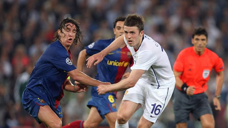 Michael Carrick says he suffered depression after Manchester Untied's 2-0 defeat to Barcelona in the 2009 Champions League final