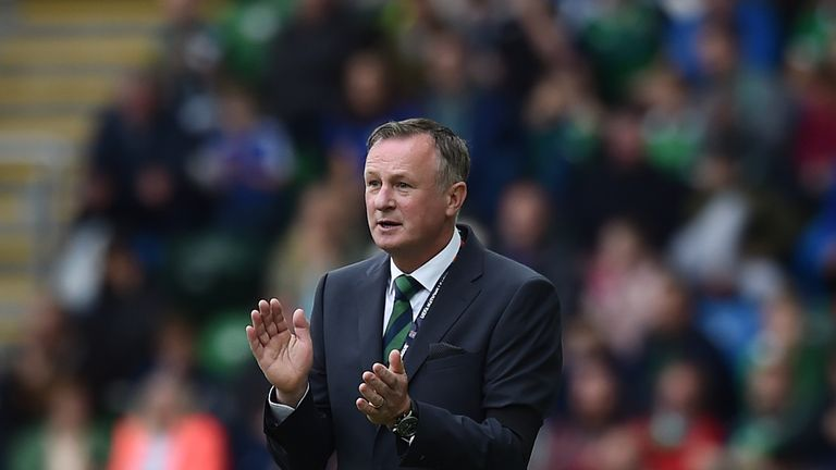 Michael O'Neill was in bullish mood when asked about Lafferty's absence