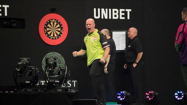 Michael van Gerwen opens European Championship bid against Paul Nicholson